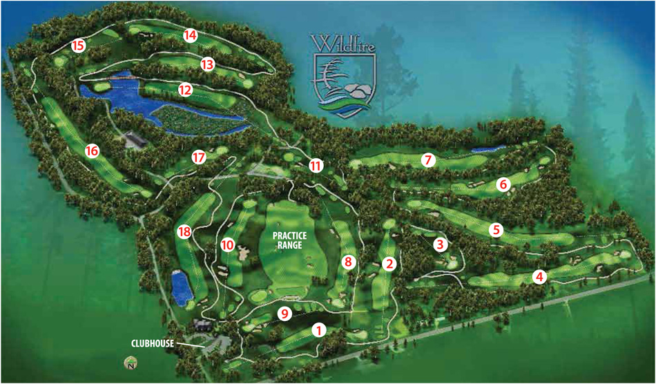 Valhalla golf club course map